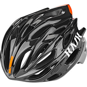 Kask Mojito X Fietshelm, black/orange